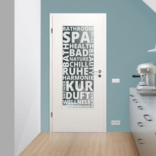 Lichtausschnitt für Badezimmer