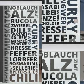 "Glasschiebetür 154-3-f-alu60 ""Spice"""