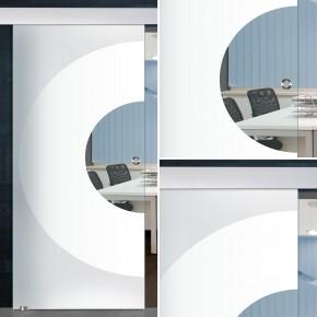 "Glasschiebetür 155-2-f-alu60 ""Sphere"""