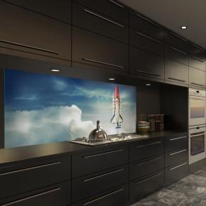 Wandbilder Glasbilder Küchenrückwände online