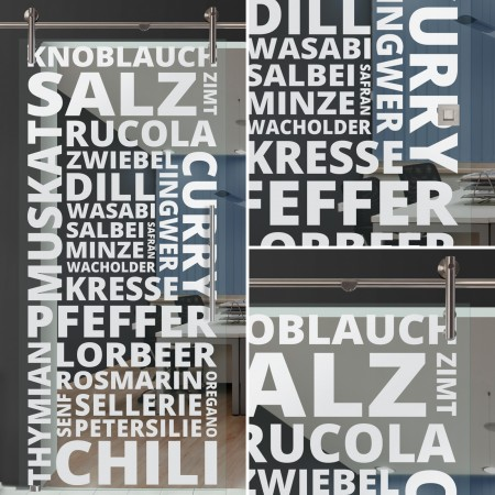 "Glasschiebetür 154-2-f-v1000 ""Spice"""