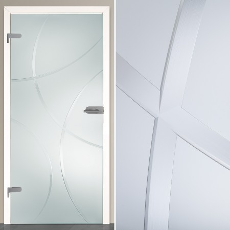 GlastüR FüR Badezimmer NG38 – Hitoiro