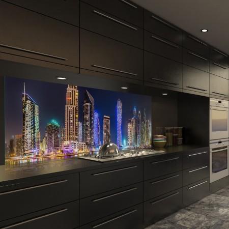 Glasbild Dubai