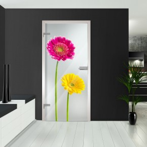 Ganzglastüren - Flowers3