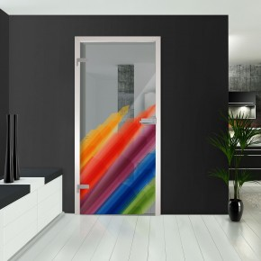Ganzglastüren - Regenbogen