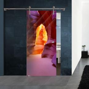 Schiebetür V1000 - Höhleneingang