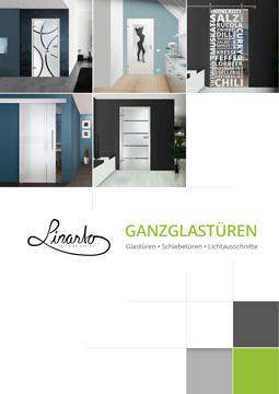 Linarto Katalog für Glastüren, Glasschiebetüren und Lichtausschnitte