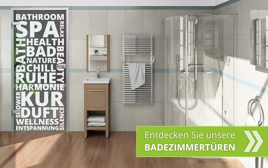 Glastüren für Ihr Badezimmer!