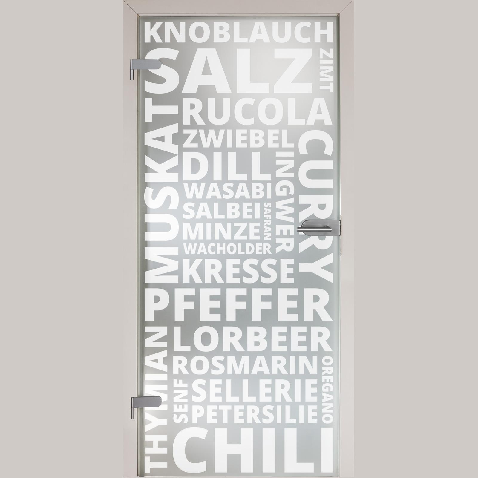 """Glastür Küche glastür 154-1-s """"spice"""""""