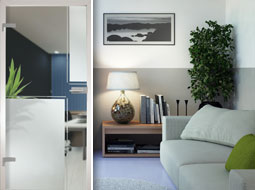 Glastüren für Ihr Wohnzimmer